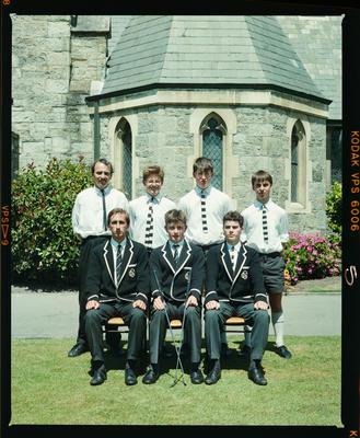 Negative: Christ's College Golf Team 1988