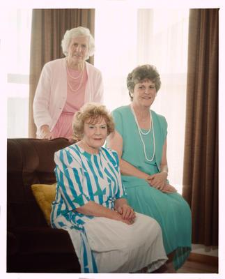 Negative: Oswell Family Portrait