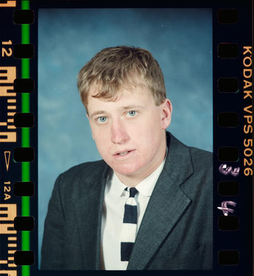 Negative: Christ's College 7th Form Student 1988