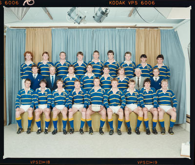 Negative: Lincoln College Rugby A Team 1988