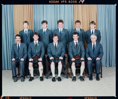 Negative: St Andrew's College McGibbon House Prefects 1988