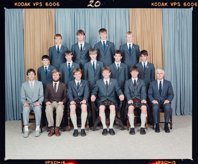 Negative: St Andrew's College Rutherford House Prefects 1988