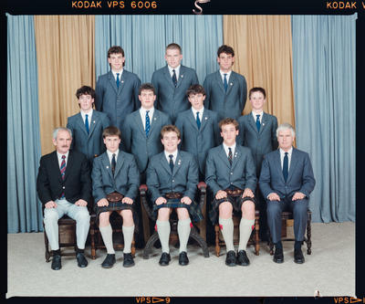 Negative: St Andrew's College Thompson House Prefects 1988