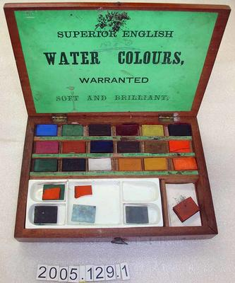 Paint Box: Watercolours