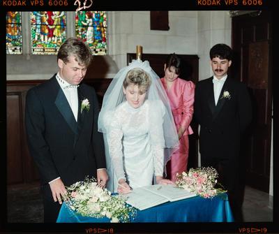 Negative: Turner-Eaton Wedding