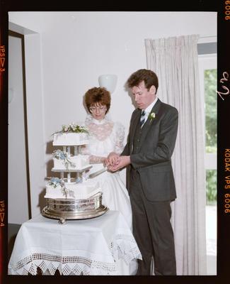 Negative: Black-Lake Wedding