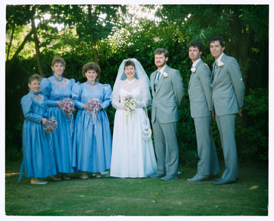 Negative: Richards-Johnson Wedding