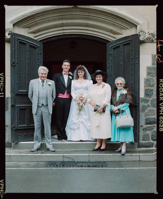 Negative: Lee-Farrar Wedding