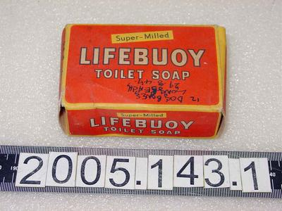 Box: Lifebuoy Soap