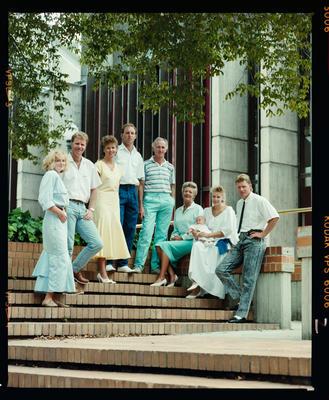 Negative: Blackler Family Portrait