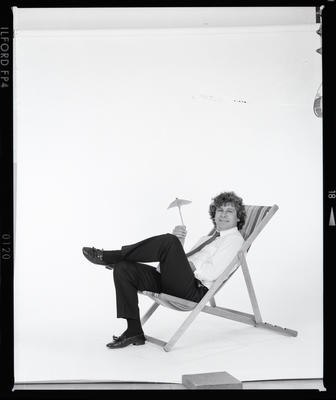 Negative: Man In Deckchair Tahiti Promo