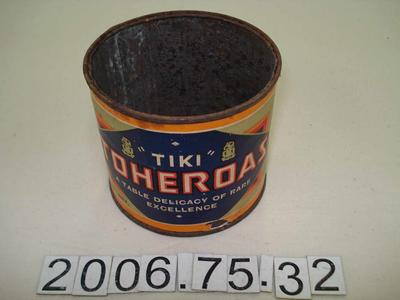 Empty Tin: Toheroa