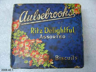 Tin: Aulsebrooks Famous Biscuits
