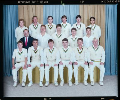 Negative: East Christchurch Shirley Cricket Club 1992