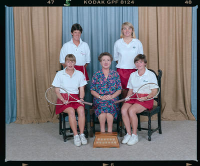 Negative: Canterbury Women's Tennis 1992