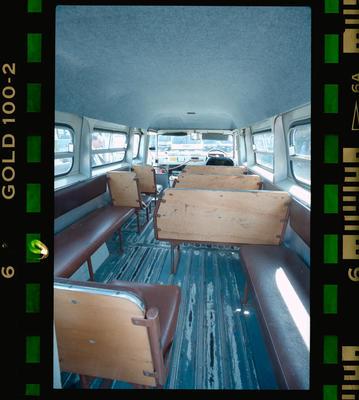 Negative: Wynn Williams Bus Interior