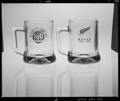 Negative: Two NZRFU Pint Glasses