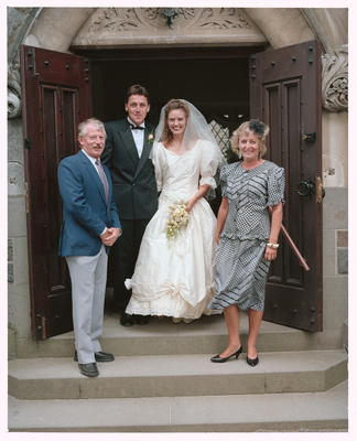 Negative: Nisbet-Bell Wedding