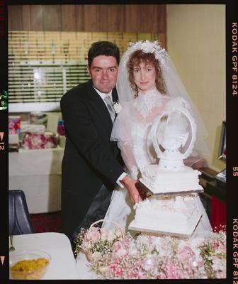 Negative: McGregor-Gates Wedding