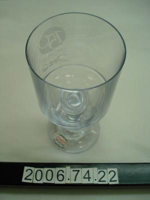 Wine Glass: Turning Point 2000 Canterbury 150th Anniversary
