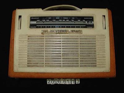 Radio: Portable Transistor