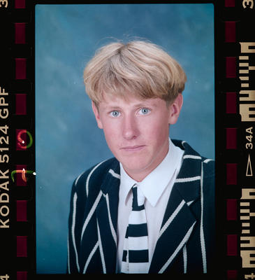 Negative: Christ's College 5th Year Student 1992