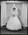 Film negative: Burrows and Naughton wedding, bride