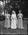 Film negative: Sutherland and Walker wedding, bride and two attendants