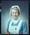 Negative: Miss C. R. Marr Nurse Portrait