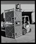 Negative: Man Driving Forklift