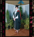 Negative: Unnamed Woman Graduate 1991