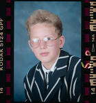 Negative: Christ's College 1st Year Student 1993