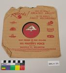 His Master's Voice Record : with Sleeve