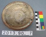 Mortuary Model Plate: Han Dynasty Earthenware