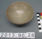 Lobed Bowl: Crackle-Glazed