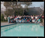 Negative: NZ Breweries Staff At Chateau Hotel