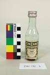 Bottle: Cinzano Extra Dry