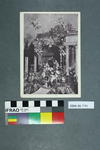 Postcard of a grotto scene