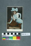 Postcard: Miss Mabel Love