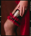 Negative: Woman's Leg And Beer Can