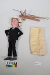 Marionette: Man wearing black formal suit