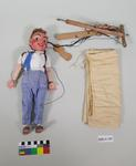 Marionette: Boy with backpack