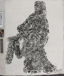 Rubbing: portrait of man