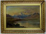 Painting: Mount Cook from Lake Pukaki