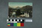 Postcard: Arrochar Mountains from Inversnaid Hotel, Loch Lomond
