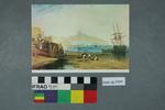 Postcard of Scarborough by J M W Turner