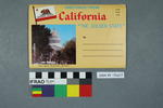 Lettercard: Greetings From California The Golden State