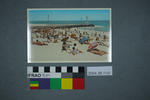 Postcard of summer time on the beach