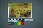 Postcard of an illuminated cave