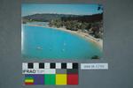 Postcard of a popular beach